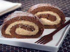Rocambole de Chocolate com Café From Brazil