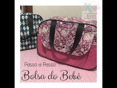 3bcfda8fa 37 melhores imagens de Bolsas de maternidade   Bags sewing, Fabric ...