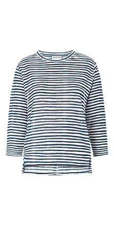 2aca185e8163e Lauren Linen Stripe Top - Whistles Stripe Top