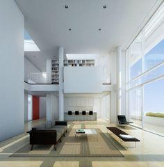 """Richard Meier, """"Bodrum Houses"""",Turkey."""