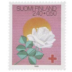 Postimerkki: Juhlapyhiä - Juhannus | Suomen postimerkit Finland, Stamps, Seals, Postage Stamps, Stamp