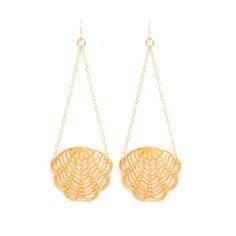 Fan Swing Earring Vintage Gold, 62% off  $19