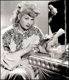 Lucille Ball. its i love lucy day. well do you???
