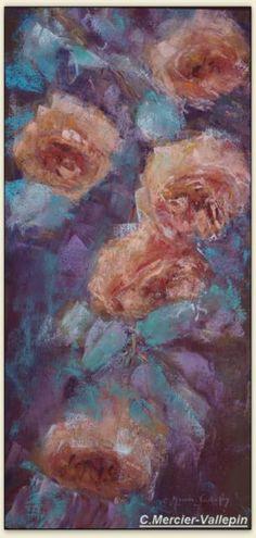 Roses 3 - pastel -