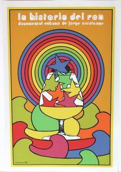 """La Historia del Ron"" artist Antonio Reboiro, Cuban"