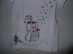 Crazy 8 brand girls shirt size M(7-8) NWT (Dalmations spots blowing off)