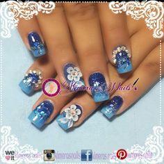 #nails #uñas #nailspretty #nailsdesign #acrílico #acrylicnails #uñasbellas #uñashermosas #uñasguapas #guapuras #diseño #kimerasnails #glitter #acrilicodecolor #PicsArt #nude #sencillas #elegantes #facebook #instagram #pinteres #weheart #azul #blue