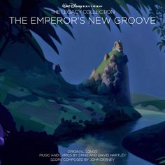 Custom artwork for 'The Emperor's New Groove' in the style of Disney's The Legacy Collection. I used concept art from the film for this one.