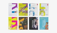 The British Library Museum Branding, New Scientist, Leaflet Design, British Library, Libraries, Booklet, Red And White, Posters, Amp