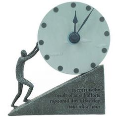 Persistence Desk Clock