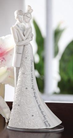 """Mini Cake Topper-- """"Forever"""" (If only I was getting married, this would be perfect)"""