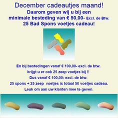 december feest en cadeau maand. www.pedicurepunt.com