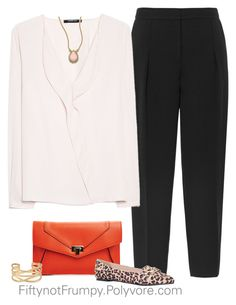 """""""Dinner Date"""" by fiftynotfrumpy ❤ liked on Polyvore featuring Reiss, MANGO, Carvela, Kate Spade and Stella & Dot"""