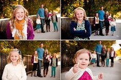 Family photo pose idea