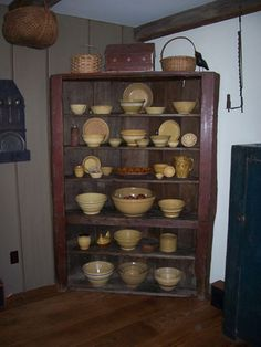 I just love this.  Reminds me of a cabinet my grandma had in her smokehouse.