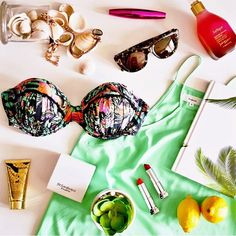 30 Fashion Flat Lay Photos FromInstagram   StyleCaster