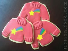 """Food Adventures (in fiction!): Mabel's Sweater Cookies for """"Gravity Falls"""""""