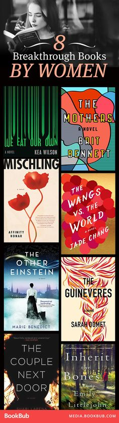 8 buzzed-about and highly-anticipated new books by women.