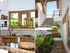 Bamboo house Filipino Architecture, Bamboo Architecture, Architecture Design, Tropical Beach Houses, Bamboo Structure, Tree House Designs, Bamboo House, Bamboo Design, Hawaii Homes