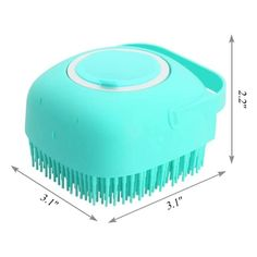 Item Name: Pet Bath BrushMaterial:ABS+siliconeColor:green,bluePackage:1 pcs brushFeature:1. [2-in-1 Bath Brush Design] This brush can use for bath and grooming. Help remove dirt, mud, and loose hair from your cat's or dogs' fur and paws and makes it fresh and clean. Can deshedding, massaging, exfoliating, relaxing, all in one multi-function that make your pet enjoy bathing.2. [ Soft Silicone Material] Made of ABS material, BPA free and harmless. Pet's groomer is built-in soft silicone bristles t Pet Spa, Cat Bath, Dog Cleaning, Hand Scrub, Bath Brushes, Dog Shampoo, Spa Massage, Cat Grooming, Beauty Products