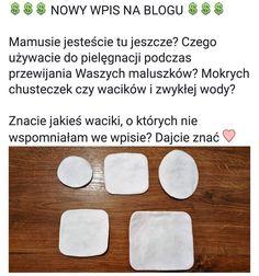 Nowy wpis za blogu  Zapraszam po przerwie ;) Link w bio! #waciki #noworodek #niemowle #niemowlak #przewijanie #tesco #cleanic #gaga #kakaludek #mama #dziecko #poznan #polska #blog  #poznań #poland