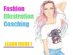 Fashion illustration tips and techniques. Free fashion drawing tutorials and free fashion templates for fashion designers and fashion lovers