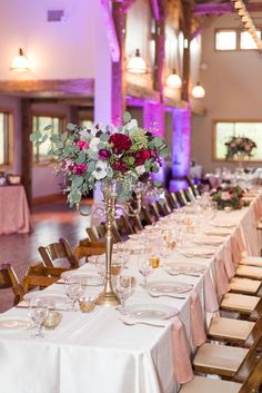 Who wouldn't dine at this beautiful table?   Ian's Chapel   Whim Floral   Eric and Jen Photography   Camp Lucy   Wedding Venue   Destination Weddings   Hill Country   Weddings   Wedding Inspiration  
