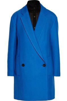Tibi Neoprene oversized coat