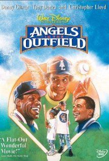 Angels in the outfield - When a boy prays for a chance to have a family if the California Angels win the pennant, angels are assigned to make that possible.
