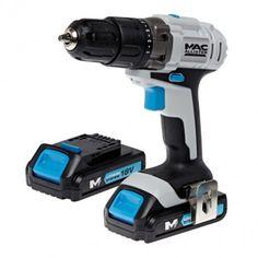Wkrętarka akumulatorowa MacAllister 18 V   akcesoria