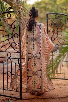 Ethnic Boho Long Sleeve Beach Kimono – Chic Boho Style Beach Kimono, Boho Kimono, Bathing Suit Covers, Bathing Suits, Swim Cover, Cover Up, Plus Size Beach, Kimono Blouse, Wrap Around Dress