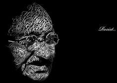 Excellent Examples Of Typography Portraits