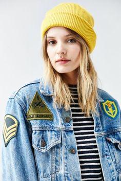 BDG Cuffed Rib-Knit Beanie - Urban Outfitters