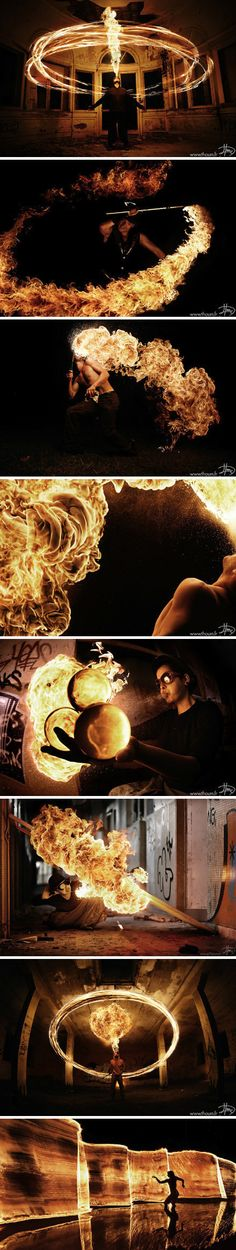 Inspiration for the fire elemental sorcerer.