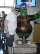 Philly Phanatic Moscot by Frommscountrymusic on Ubetoo - Listen to Frommscountrymusic songs for free