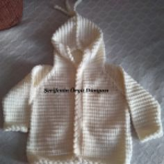 Full-narrated hooded baby cardigan with its numbers is a video narrative . - Ilkem Bozdemir Yetişkin - - Full-narrated hooded baby cardigan with its numbers is a video narrative . Knitting For Kids, Baby Knitting Patterns, Crochet Patterns, Knitted Baby Cardigan, Baby Pullover, Hooded Cardigan, Hooded Jacket, Bebe Baby, Baby Vest
