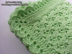 One Skein Baby Blanket pattern by Michele Gaylor
