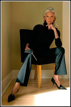 Medium Hair Styles For Women Over 40 | making white hair look good | Ageless Grace, Beauty & Style