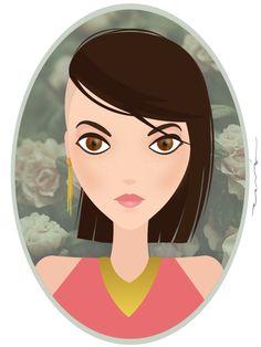 Aaronaitor: la Primera del 2015 #ilustración #illustrator #girl #draw