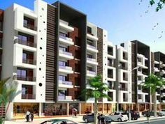 Apartments/Flats for sale in Whitefield Bangalore, Gruha Kalyan Builders offers affordable and 3 bhk Flats, Apartments with more facilities in Whitefield. Modern Apartment Design, Modern House Design, Concept Architecture, Architecture Design, Townhouse Designs, Building Facade, Facade House, Commercial Design, Center Pieces