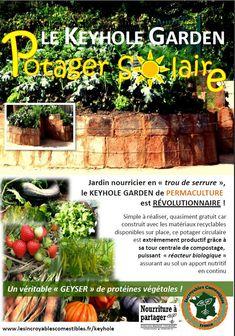 "Breuillet Nature: Keyhole ou jardin dit ""trou de serrure"""