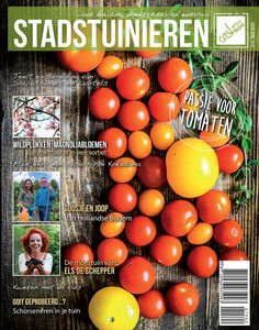 Het aprilnummer is nu overal te koop! Probeer eens rode tuinmelde, onweerstaanbare magnoliabloemen of tweedehands groentensoep. De 60 soorten tomaten van Daphne en nog veel meer leuke inspiratie voor je daktuin, balkon of moestuin.