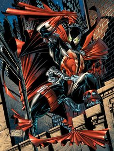 Spawn by Todd McFarlane Flying demon. Comic Book Artists, Comic Book Characters, Comic Book Heroes, Comic Artist, Comic Character, Comic Books Art, Fictional Characters, Spawn Comics, Dc Comics