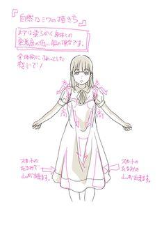 「「自然なシワの描き方。」」/「toshi」の漫画 [pixiv] More