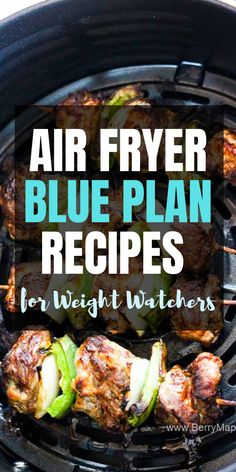 Healthy blue plan air fryer recipes for weight watchers. Freestyle smart points calculated Healthy blue plan air fryer recipes for weight watchers. Weight Watchers Desserts, Air Fryer Recipes Weight Watchers, Weight Watchers Meal Plans, Weight Watchers Diet, Weight Watcher Dinners, Weight Watchers Smart Points, Weight Watchers Freezer Meals, Ww Recipes, Healthy Recipes