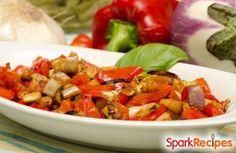 Simple Mediterranean Vegetable Stew  Recipe via @SparkPeople