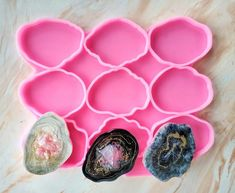 Resin Crafts, Resin Art, Agate Coasters, Resin Ring, Bedding Shop, Epoxy, Silicone Molds, Napkin Rings, Polymer Clay