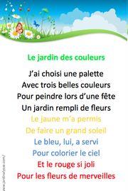 Comptines Pour Le Printemps Comptines Chansons Maternelle