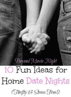 fun ideas for home date nights