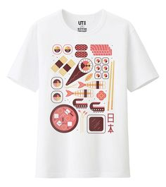 79bf77aa2 Uniqlo commissioned us to create a series of illustrations for their  OMIYAGE range of t-shirts. Omiyage is the Japanese word for 'souvenier' and  the range ...